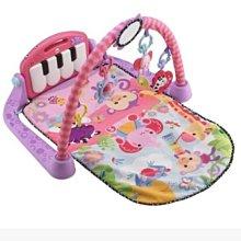 *小踢的家玩具出租*A2860  費雪Fisher Price腳踏鋼琴健身器遊戲墊/健力架粉紅版~即可租