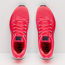 S.G NIKE WMNS AIR ZOOM PEGASUS 34 螢光紅 運動 慢跑鞋 女款 880560-602