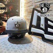 New Era x NBA Brooklyn Nets Shield Logo 59Fifty 布魯克林籃網隊灰色全封帽
