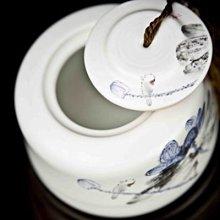 亂太郎*****德化白瓷 茶罐收密納罐
