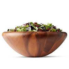 北歐丹麥DANSK 15.2cmH*40cmW 原木 沙拉碗 沙拉盆 沙拉盤 木盆 派對 聚餐 入厝
