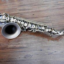 《產地直銷》仿古中音薩克斯風,特製進階款式,135mm加大喇叭口,85銅身管