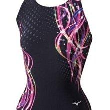 ~有氧小舖~2014 MIZUNO 女款競賽型訓練泳衣LOOSEN UP U-FIT  N2JA431097 出清特價