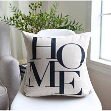 [特價]北歐風 厚磅棉麻抱枕套/靠墊/沙發抱枕 53x53cm - Home