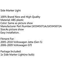Vw Jetta Gen5 06-09 Gti YEL( Left )保險桿方向燈殼-極限超快感