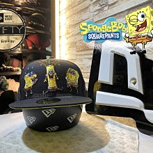 New Era x Sponge Bob the Squarepants 59Fifty 海綿寶寶美國喜劇動畫劇全封帽