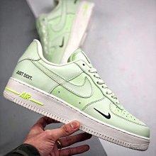 Nike Air Force 1 Low 螢光綠 空軍 小綠勾 皮革 低幫 休閒滑板鞋 CT2541-700 男女鞋