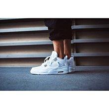 老夫子 Air Jordan 4 Pure Money(308497-100) 男&女休閒運動慢跑鞋
