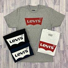 衝評 7747 BS4 Levis 短T 經典款 四色 蝙蝠狀 LOGO 素色 T恤 上衣 短袖 圓領 男版