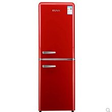 【興達生活】EUNA/優諾BCD`133R復古雙門冷藏冷凍辦公室宿舍小型家用冰箱