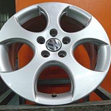 【桃園 小李輪胎】17吋5孔112 VW 福斯 原廠 中古鋁圈 AUDI Skoda ET40以上車系適用