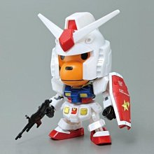 【PB 魂商店限定】BB戰士 BABY MILO & 鋼彈 RX-78-2 GUNDAM 聯名企劃 起標價就是直購價