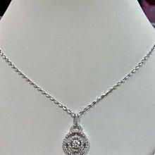 總重1.16克拉天然鑽石項鍊,超豪華配鑽,超值優惠商品75800元,主鑽50分,搭配豪華配鑽66分,提供刷卡分期