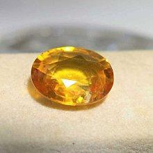 【艾琳珠寶藝術】超霸氣天然錫蘭黃寶石3.19 克拉,威士忌 黃色