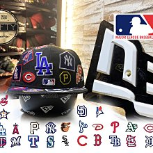 New Era x MLB Team All Over 59Fifty 美國職棒全部球隊 Logos全封棒球帽