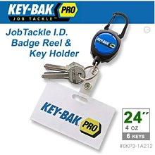 "【LED Lifeway】KEY-BAK JobTackle (公司貨) 24""伸縮鑰匙圈證件夾 #0KP3-1A212"