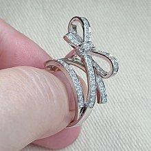sogo超級精緻時尚鑲滿鑽高仿鑽戒真鑽相似度92%更璀璨求婚 結婚高仿真鑽石手飾 歐美豪華高檔微鑲純銀戒指鑽寶出品週年特價