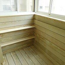 陽台。戶外、實木。防腐。南方松、地板 、牆板、木板 、原木