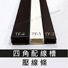 安力泰系統~ TF-2 方型2號 四角 配線槽 / 壓線條 / 壓條