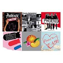 現貨 專輯 套售 全新未拆 Phoenix 鳳凰樂團 融合 依字母排列 出乎意料 阿瑪迪斯鳳凰 破產啦 2CD 我愛你
