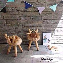 設計獎動物造型椅凳 換鞋凳 記憶坐墊 兒童椅凳 小凳 小椅子 創意 鹿│羊│牛│兔  北歐日式鄉村風格 §宥薰設計家