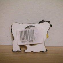 全新牧場購回可愛乳牛餵哺小牛立體造型質優厚實磁鐵冰箱貼