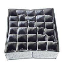 內衣領帶襪子分類收納盒 無紡布竹炭整理盒 遇見良品H4556T