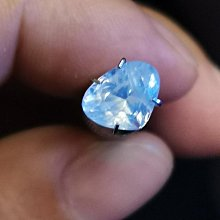 天然無燒印度喀什米爾產藍寶石