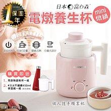 【日本富力森mini電燉養生杯】燉煮養生杯 慢燉杯 燉鍋 湯鍋 電煮爐 電熱杯 熱水壺 送316保溫瓶【AB550】