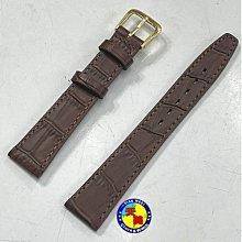 【天美鐘錶店家直營】【下殺↘超低價】全新-真皮錶帶-咖啡18mm(適用CASIO AQ-230GA、AQ-230A)