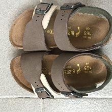 男童 二手極新Birkenstock 雙色涼鞋
