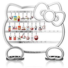 Hello Kitty 造型飾品架+經典吊飾33款+5款新色版