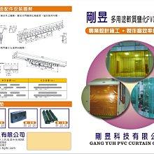 剛昱科技PVC條狀塑膠門簾/PVC門簾/防靜電門簾