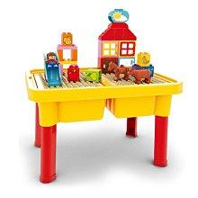 多功能 遊戲桌 積木桌 學習桌 兒童桌 收納桌 一桌三用 樂高相容 相同規格【G44003101】塔克玩具