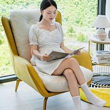 沙發椅北歐休閑家用單人沙發小戶型陽臺臥室客廳輕奢簡約懶人沙發躺椅