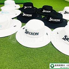 [小鷹小舖] Dunlop SRIXON Cleveland 高爾夫 球帽 運動帽 漁夫帽 登山帽 白黑/白藍/黑白
