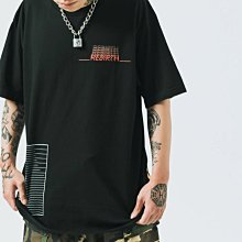 【MASS】2019 S/S ON-AIR NUCLEAR FUSION TEE 黑色 M L