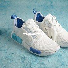老夫子 Adidas  NMD boost 圣保羅 白藍 S75235 男女鞋
