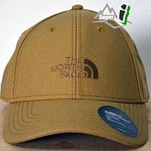 「i」【現貨】The North Face 卡其 66 Classic 可調節 刺繡Logo 棒球帽 老帽 TNF北臉