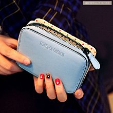 [現貨][HZ150330-1]韓劇同款錢包女用短夾可愛手拿包
