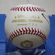 棒球天地--5折賠錢出--南韓無等山轟炸機 宣銅烈 簽名全新比賽球.字跡漂亮