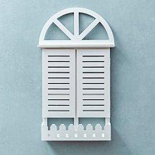 〖洋碼頭〗美式創意窗戶花籃小掛件地中海牆面裝飾品服裝店餐廳牆壁牆上掛飾 fjs328