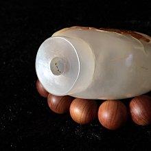 阿牛的店 掏膛薄 瑪瑙俏色雕 清末民初 老鼻煙壺 蓋後配 不含蓋67*54*35mm