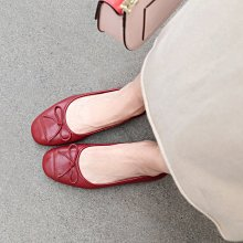DANDT 真皮蝴蝶結娃娃鞋(AUG 20 1410)同風格請在賣場搜尋 REG 或 歐美女鞋