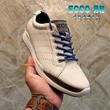 正貨ECCO GOLF BIOM HYBRID 男士高爾夫混合運動鞋 高爾夫鞋 男休閒鞋 呼吸款 緩衝中底 131614