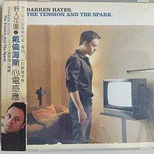 二手CD~野人花園主唱 戴倫海斯單飛專輯(心電感應) 保存良好CD無刮