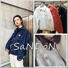 SaNDoN :MOUSSY X MOANDMO聯名系列 限量車線小布標可愛丹寧牛仔外套 200307
