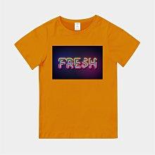 T365 MIT 親子裝 T恤 童裝 情侶裝 T-shirt 標語 話題 口號 標誌 美式風格 slogan FRESH