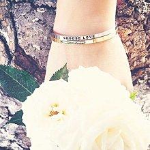 MANTRABAND 美國悄悄話手環 Carpe Diem 把握當下 拉丁文版 玫瑰金手環