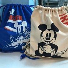 7-11 金鼠年福袋 米奇系列商品 帆布束口後背包(現貨)